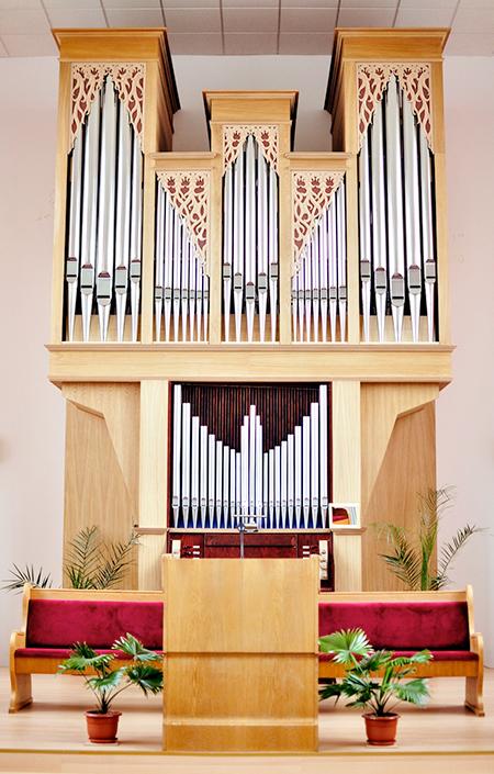 Orga biserica adventista Timisoara